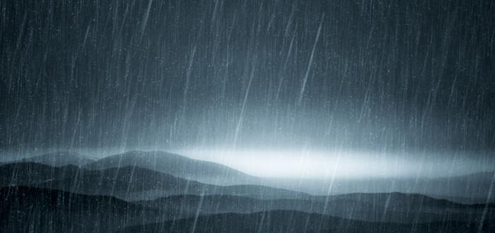 Soñar con Agua lluvia