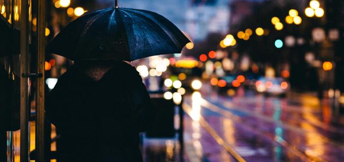 Soñar con Lluvia paraguas