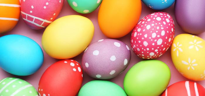 Soñar con Huevos colores