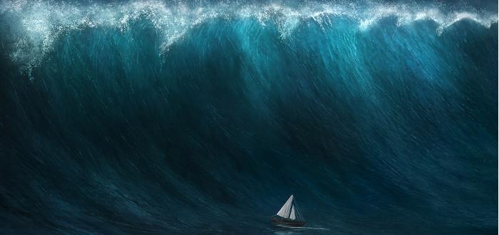 Soñar con Tsunami barco