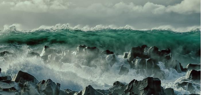 Soñar con Tsunami ola