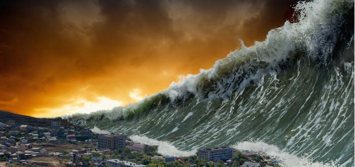 Soñar con Tsunami pueblo