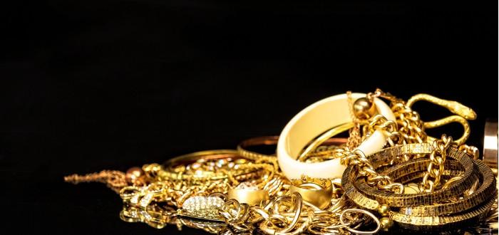 Soñar con Oro joyas