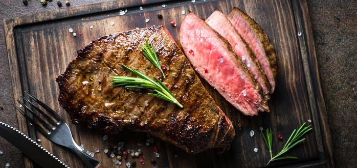 Soñar con Carne cocinada