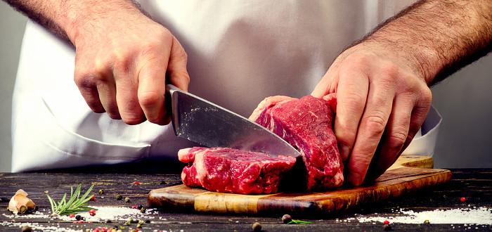 Soñar con Carne cortar