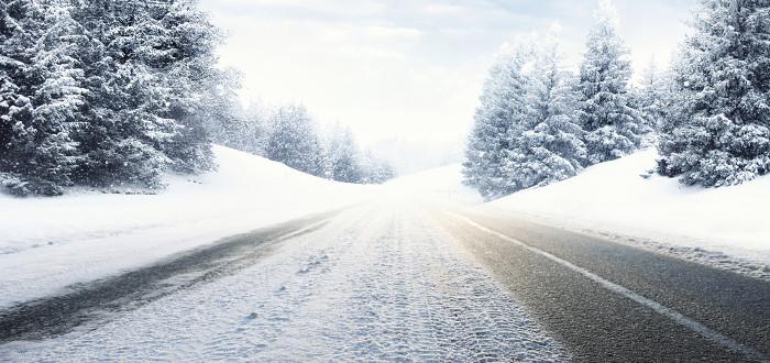 Soñar con Nieve carretera