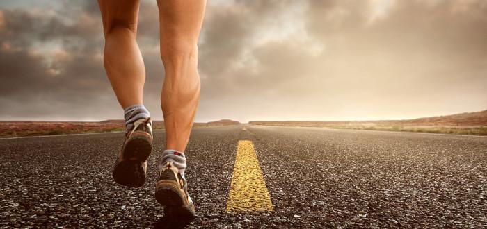 Soñar con Correr asfalto