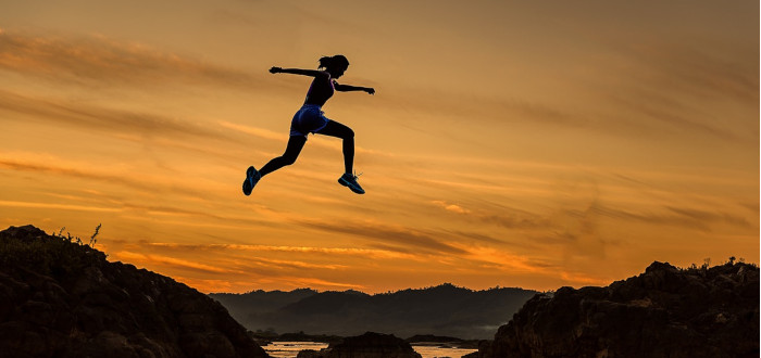 Soñar con Correr salto