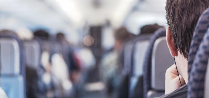 Soñar con Viajar en Avión pasillo