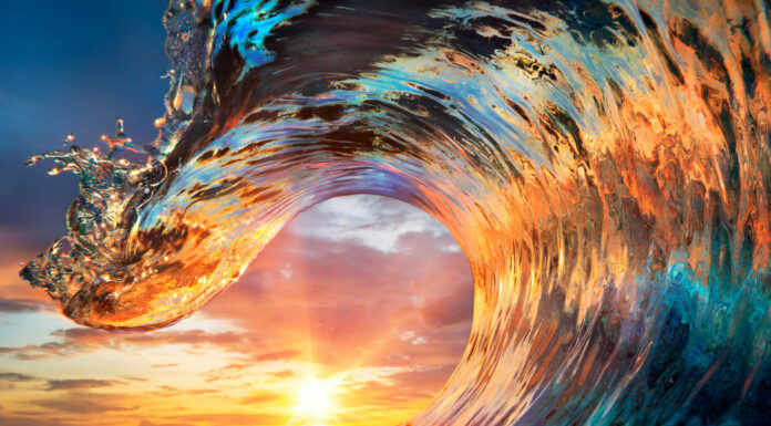 soñar con olas 1