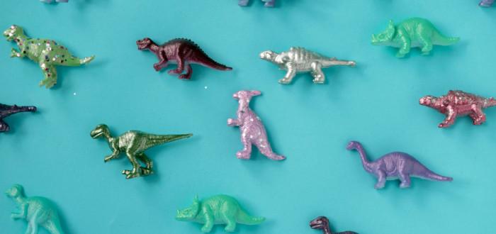 Soñar con Juguetes dinosaurios