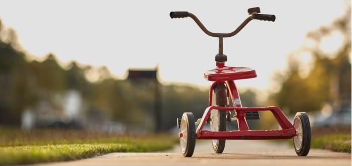 Soñar con Juguetes triciclo