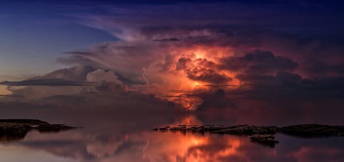 Soñar con Tormenta lago