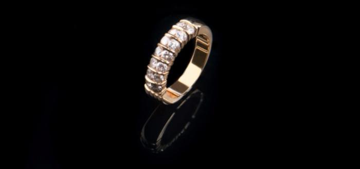 Soñar con Diamantes anillo