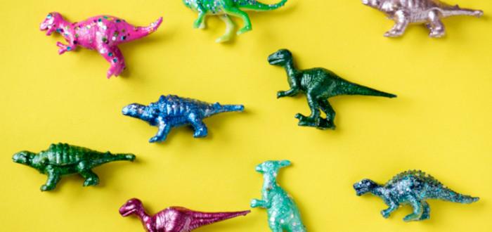 Soñar con Dinosaurios juguetes