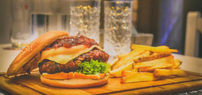 Soñar con Restaurante hamburguesa