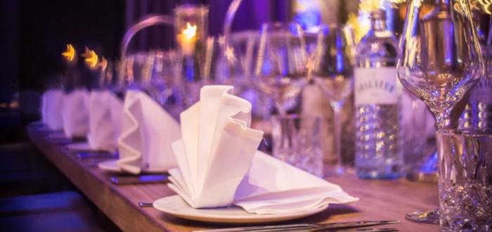 Soñar con Restaurante servilletas