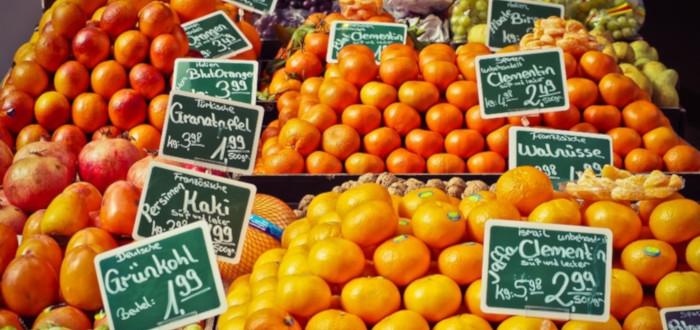 Soñar con Naranjas mercado