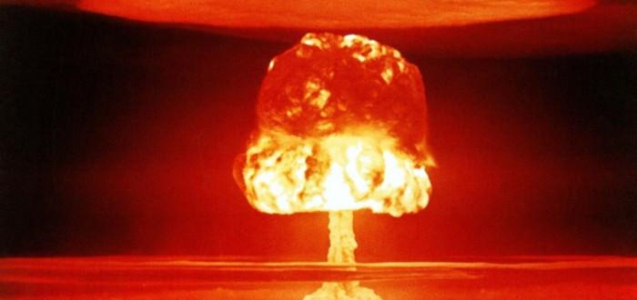 Soñar con Explosión atómica