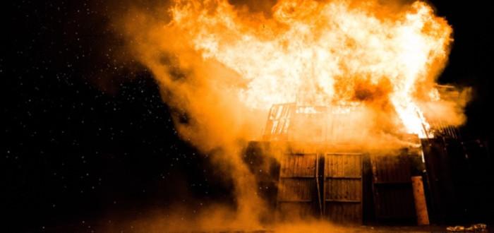 Soñar con Explosión fuego