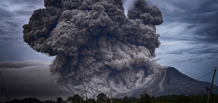 Soñar con Explosión volcán